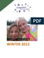 Nieuwsbrief februari 2012