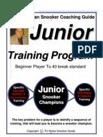 Snooker Coaching