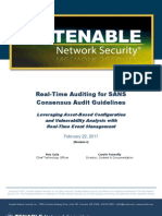 Tenable SANS-CAG Compliance 0