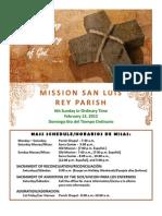 MSLRP Bulletin Feb 12, 2012