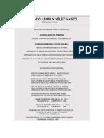 Curriculum Vitae Dr. Orlando Leon y Velez Vasco