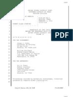 Allen Stanford Criminal Trial Transcript Volume 10 Feb. 3, 2012