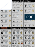 MTG Expansion Symbols