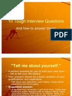 10 Tough Interview Questions
