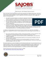 Benefits Federal Employment