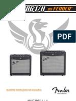 MustangI II Advanced Manual Portuguese