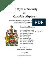 Senate Report on Airport Security