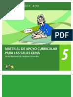 Coleccion Curriculo II - N 5 Material de Apoyo Curricular Para Salas Cuna