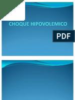 CHOQUE HIPOVOLEMICO