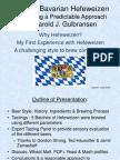 Hefeweizen NHC Presentation