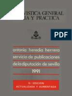a General Teoria y Practica - Antonia Heredia