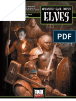 Advanced Race Codex. Elves
