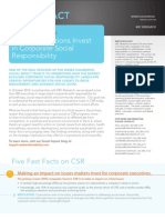 Why Companies Invest on Csr