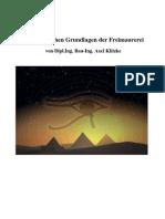 Ägyptische Grundlagen der Freimaurerei