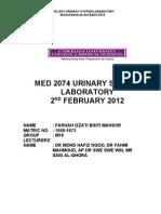 Farhah Izzati Urinalysis Lab 020212