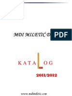 MDI MILETIC DOO - Katalog Proizvoda
