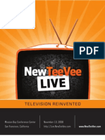NewTeeVee Live 08 - Program Guide