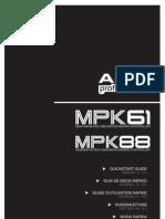 AKAI MPK 88 Quickstart_guide Reva