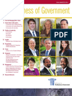 The Business of Government Magazine - Fall/Winter 2011