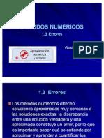 1.3 Errores (1)