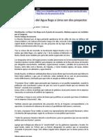 Marcha Del Agua - Noticias 04