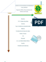 Fabian Dzul Moo Fundamentos de Base Datos 4 Semestre