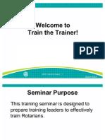 Train the Trainer Slides En