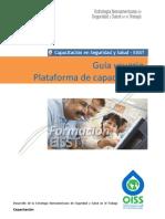 Guía Plataforma de Capacitación