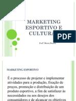 Marketing Esportivo e Cultural