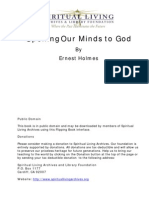 Opening Our Minds to God by Ernest Holmes p