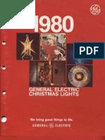 GE 1980 Christmas Lighting Catalog