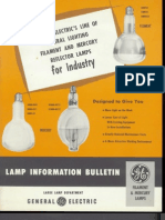 GE Reflector Lamps for Industry Product Information Bulletin