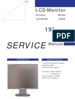 Samsung Sync Master 940N LCD Service Manual