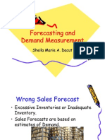 Final Reportn Forecasting and Demand Measurement