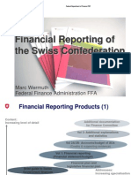 Financial Reporting of the Swiss Confederation 2011