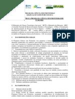Edital 102 Chamada Usa Cnpq-capes-mct