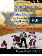 Strong Hockey Core Training