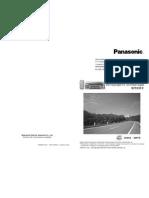 Panasonic Car Audio Manual