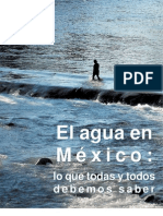 El agua en México