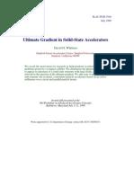 David H. Whittum- Ultimate Gradient in Solid-State Accelerators