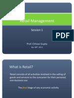 Retail Management_Session 1