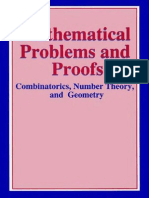 Kluwer Academic_Mathematical Problems and Proofs Combinatorics Number Theory, And Geometry - 2002