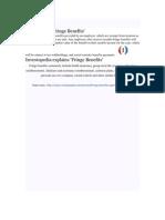 Definition of Fringe Benefits