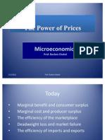 Micro Economics- The Power of Prices-1
