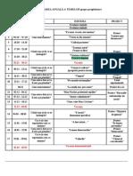 Sss Planificarea Anuala a Temelor Grupa Pregatitoare
