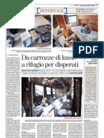 La Stampa 12/02/2012 - L'abbandono dei vagoni letto