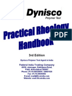 Practical Rheology Handbook
