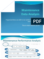 Maintenance Data Analysis