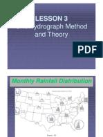 78137277 Lesson 3 Unit Hydro Graph Method Theory