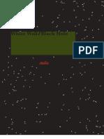 White Wall:Black Hole